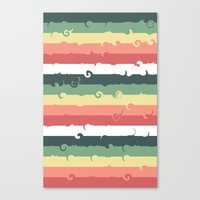 Candy Roll Canvas Print