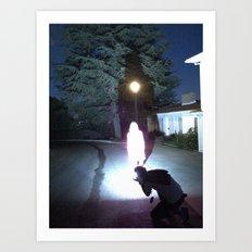 The Speed of Light Art Print