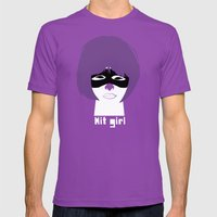 Hit Girl Mens Fitted Tee Ultraviolet SMALL