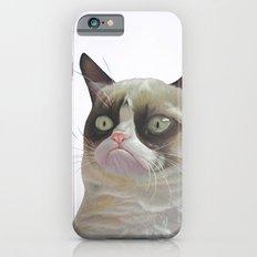 Grumpy  White Slim Case iPhone 6s