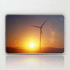 Windmill Sunset Laptop & iPad Skin
