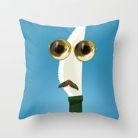 Daddy knife Throw Pillow