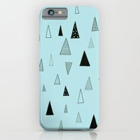 Raining Triangles iPhone 6 Slim Case