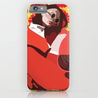 iPhone & iPod Case featuring Red Summer by Anna McKay