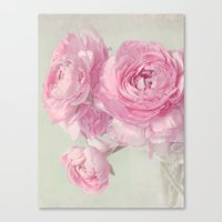 think pink N°2 Canvas Print
