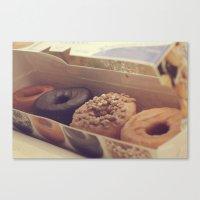 Box of Donuts Canvas Print