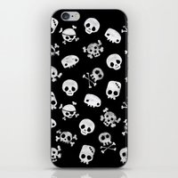 Cute Skull iPhone & iPod Skin