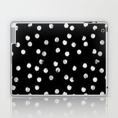 White Dots Laptop & iPad Skin