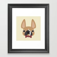 This Is Brix, Too. Framed Art Print