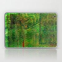 Gold caged green Laptop & iPad Skin