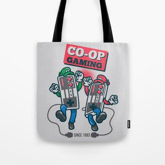 Co-op Gaming Tote Bag