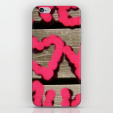 live.love.laugh. iPhone & iPod Skin