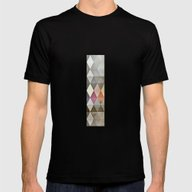Grunge K7 Mens Fitted Tee Black SMALL