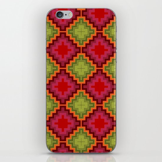 christmas kilim iPhone & iPod Skin