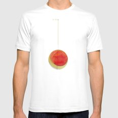 suspended Mens Fitted Tee SMALL White