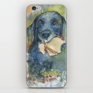Want To Play Fetch??? iPhone & iPod Skin