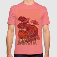 The Beautiful Flower in the Garden Mens Fitted Tee Pomegranate SMALL