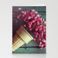 Flower Cone I Stationery Cards