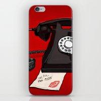 Late Call  iPhone & iPod Skin