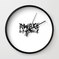 Awake My Soul Wall Clock