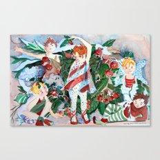 Nutcrackers Sugar Plum Fairies Canvas Print