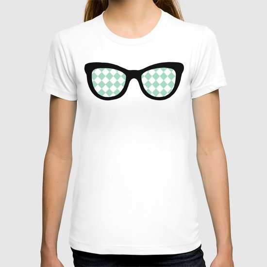 Mint Diamond Eyes T-shirt