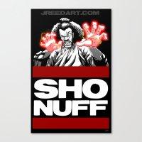 Sho Nuff  Canvas Print