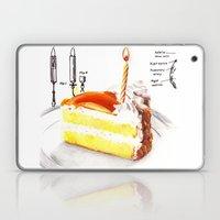 Birthday Cake Laptop & iPad Skin