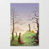 The Fox's Tower Canvas Print