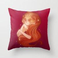Wrathia Bellarmina Throw Pillow