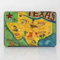 Postcard from Texas print iPad Case