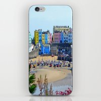Tenby Harbour.Colour.Ref… iPhone & iPod Skin