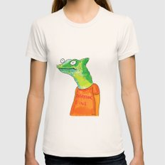 Everything Fine Womens Fitted Tee Natural SMALL