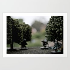 Thaelar The Hobbit Art Print
