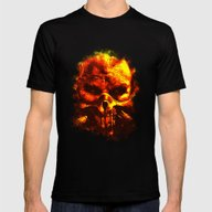 Immortan Mens Fitted Tee Black SMALL