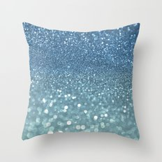 Bubbly Sea Throw Pillow