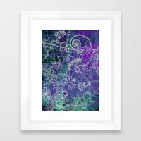 Insidious Flowers Framed Art Print