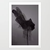 Leaf Eight Art Print