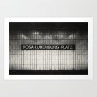 Berlin, Rosa-Luxemburg-P… Art Print