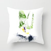 The Perfect Warrior Throw Pillow