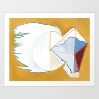 Abstract Painting 7744 Art Print