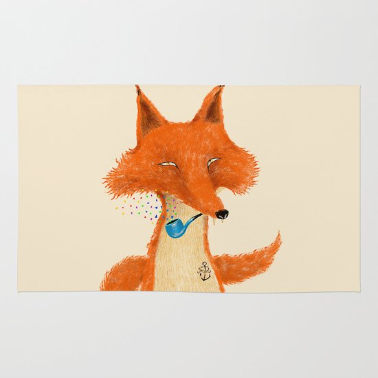 Fox III Area & Throw Rug