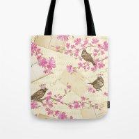 Love Letters - Cute Spar… Tote Bag