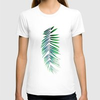 ELORAH Womens Fitted Tee White SMALL