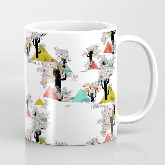 Tree Triangles Mug