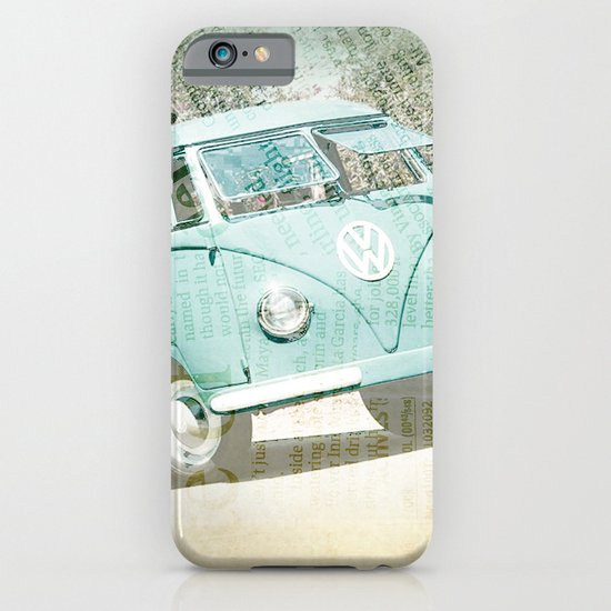 going up the country _ VW Kombi iPhone & iPod Case