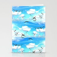 A Flock Of Seagulls Stationery Cards