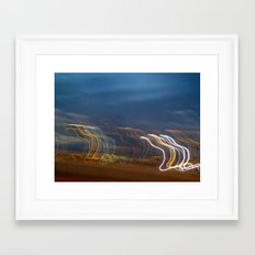 You Show the Lights Framed Art Print