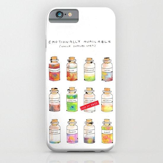 Emotionally Available iPhone & iPod Case