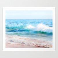Aquamarine Dreams 1 Art Print